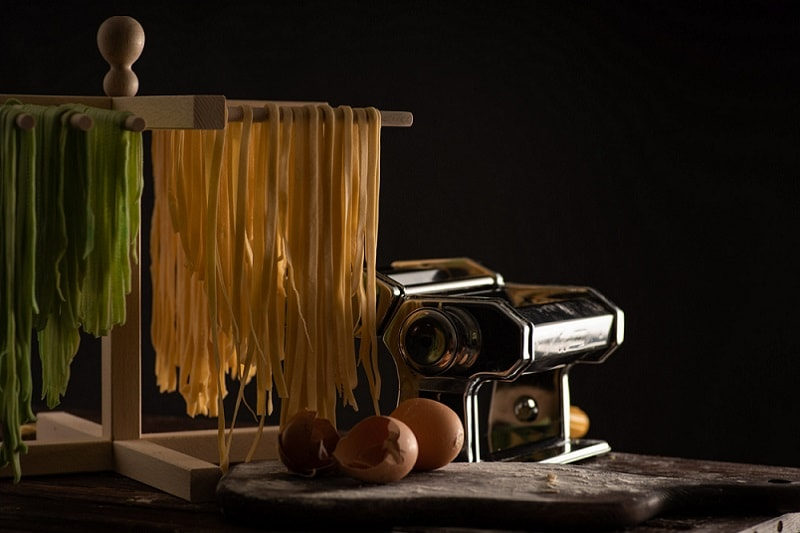 best rated pasta drying rack